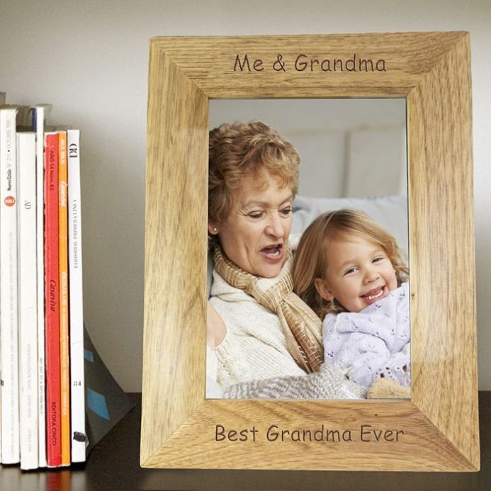 Personalised 5x7 Wooden Frame - Any Wording